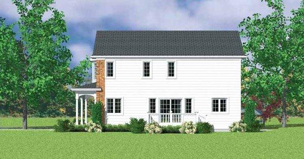Country Floor Plan - Other Floor Plan Plan #72-1111