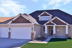 Craftsman Exterior - Front Elevation Plan #455-231