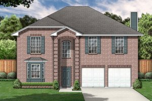 Classical Exterior - Front Elevation Plan #84-318
