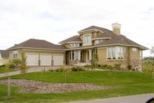 Dream House Plan - Traditional Exterior - Other Elevation Plan #56-595