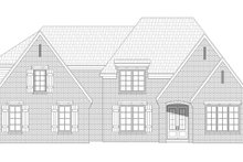Southern Exterior - Front Elevation Plan #932-340