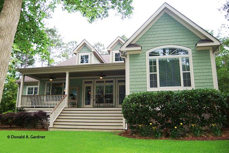 Ranch Exterior - Rear Elevation Plan #929-745 - Houseplans.com