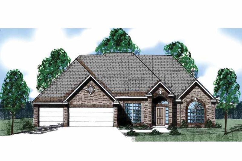 Country Exterior - Front Elevation Plan #52-279 - Houseplans.com