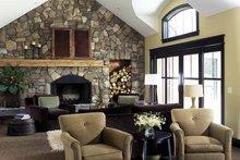 Craftsman Interior - Family Room Plan #928-36