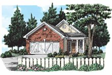Home Plan - Bungalow Exterior - Front Elevation Plan #927-292