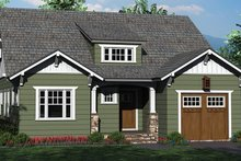 Craftsman Exterior - Front Elevation Plan #453-619