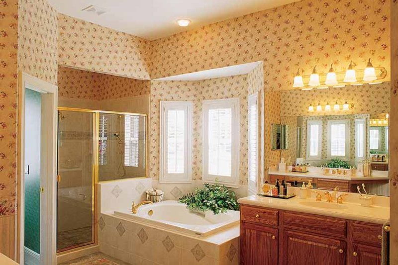 Victorian Interior - Bathroom Plan #417-545 - Houseplans.com