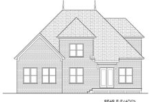 Home Plan - European Exterior - Rear Elevation Plan #413-875