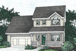 Traditional Exterior - Front Elevation Plan #20-1249