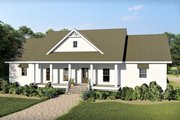 Farmhouse Style House Plan - 4 Beds 2.5 Baths 2525 Sq/Ft Plan #44-242 Exterior - Front Elevation