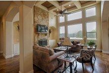 Dream House Plan - Mediterranean Interior - Family Room Plan #80-141