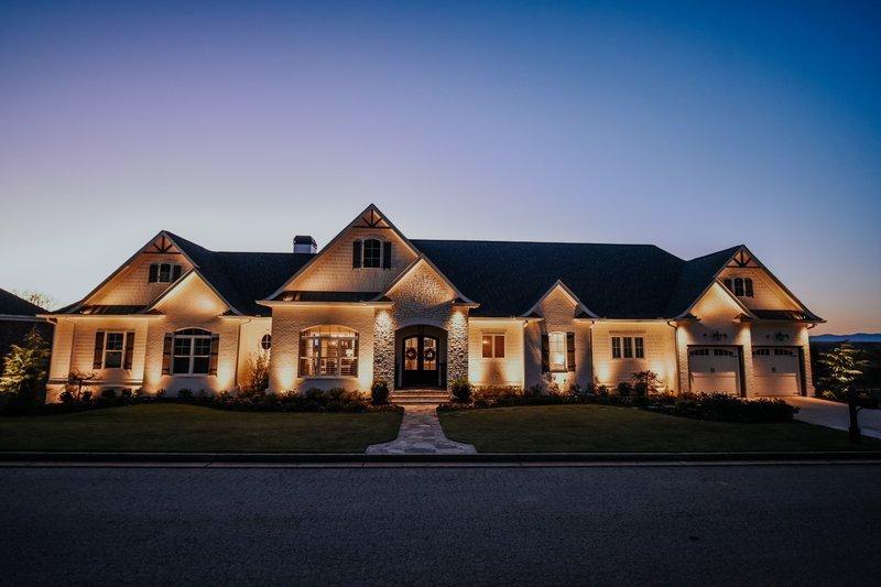 Architectural House Design - Craftsman Exterior - Front Elevation Plan #437-96