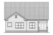 Bungalow Style House Plan - 2 Beds 2 Baths 1958 Sq/Ft Plan #413-793 Exterior - Rear Elevation