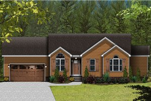 Traditional Exterior - Front Elevation Plan #977-4