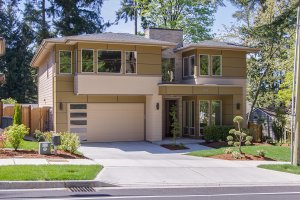 Modern Exterior - Front Elevation Plan #132-225