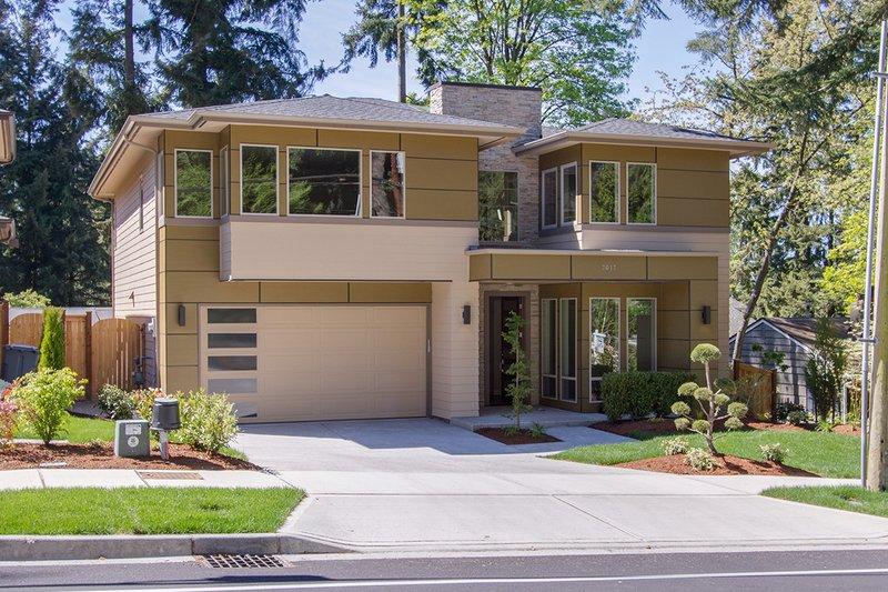 Home Plan - Modern Exterior - Front Elevation Plan #132-225