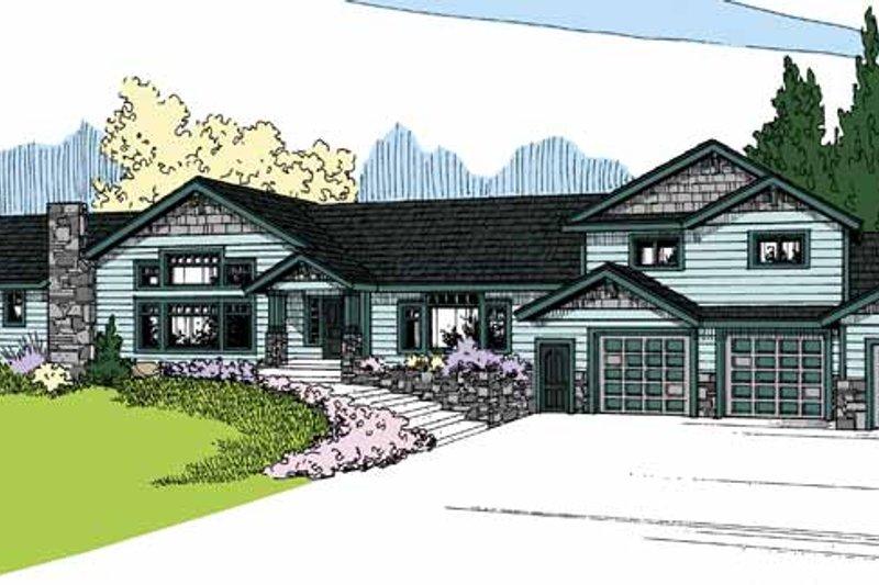 House Plan Design - Contemporary Exterior - Front Elevation Plan #60-1029