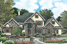 Traditional Exterior - Front Elevation Plan #929-782