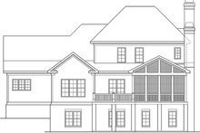 Traditional Exterior - Rear Elevation Plan #927-963
