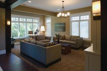 House Plan Design - European Interior - Family Room Plan #928-180
