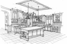 Traditional Interior - Kitchen Plan #928-72
