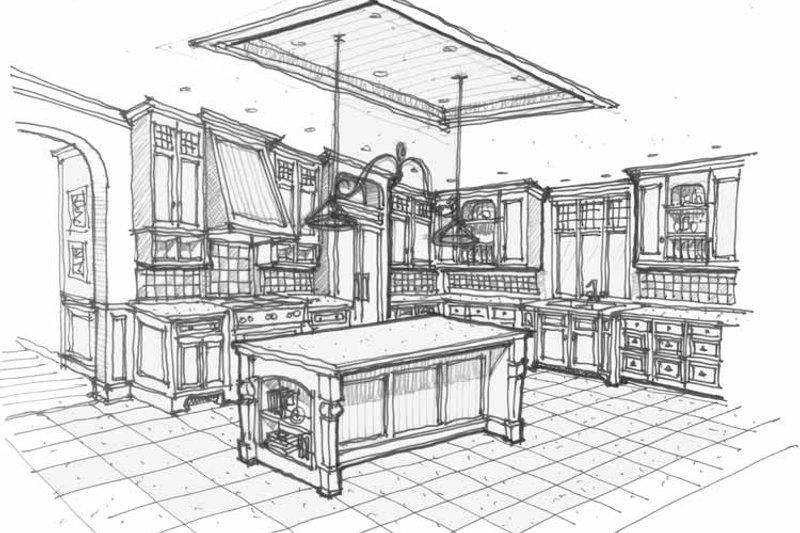 Traditional Interior - Kitchen Plan #928-72 - Houseplans.com
