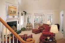 Country Interior - Family Room Plan #929-148
