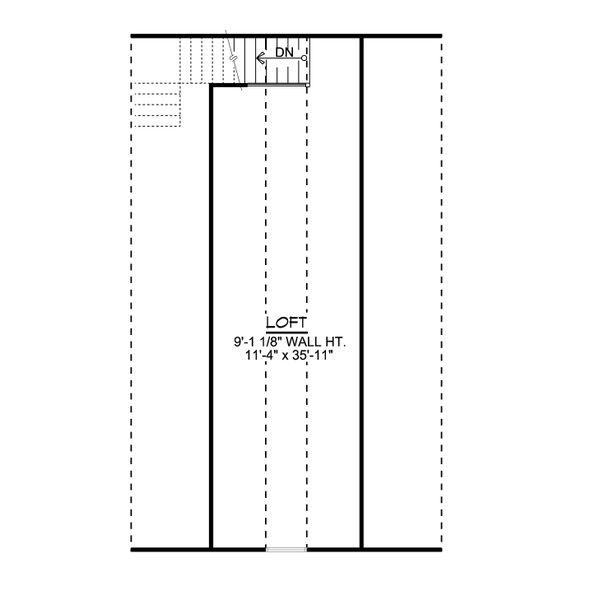 Architectural House Design - Country Floor Plan - Upper Floor Plan #1064-85