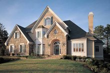 Country Exterior - Front Elevation Plan #429-113