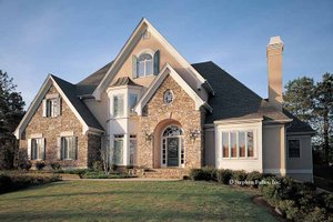 Home Plan - Country Exterior - Front Elevation Plan #429-113