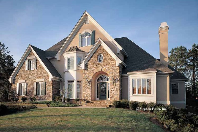 House Plan Design - Country Exterior - Front Elevation Plan #429-113