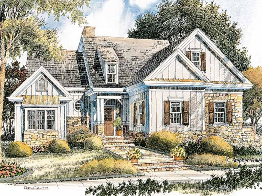 Bungalow Style House Plan 2 Beds 2 Baths 1735 Sq Ft Plan