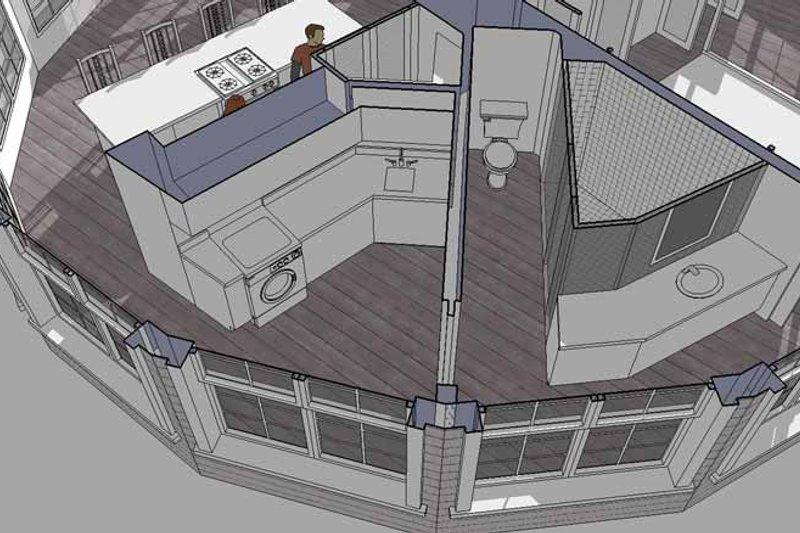 Contemporary Interior - Bathroom Plan #64-294 - Houseplans.com