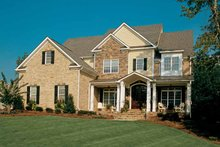 Home Plan - Colonial Exterior - Front Elevation Plan #927-923