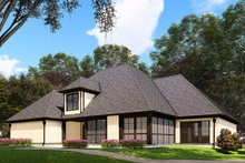 Dream House Plan - European Exterior - Other Elevation Plan #923-160