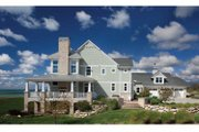Craftsman Style House Plan - 5 Beds 4.5 Baths 5026 Sq/Ft Plan #928-229 Exterior - Other Elevation