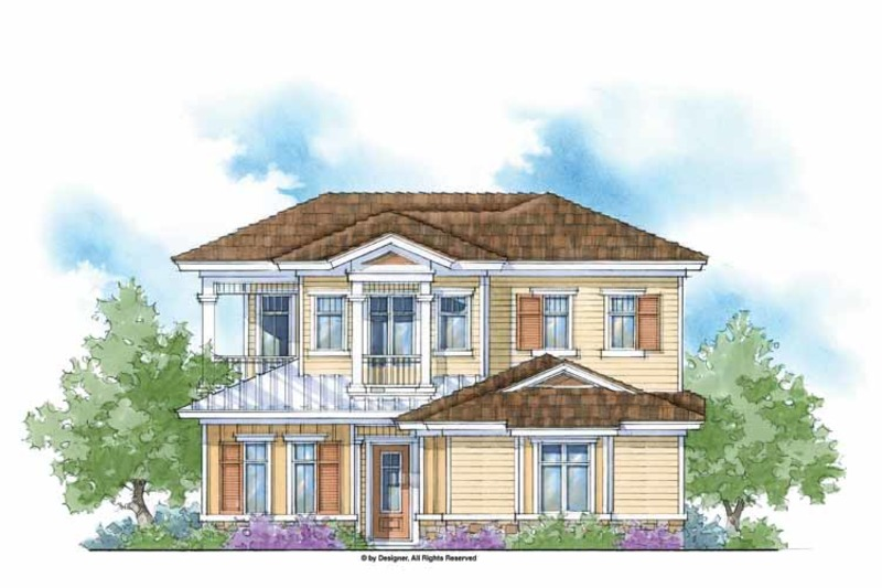Country Exterior - Front Elevation Plan #938-9 - Houseplans.com