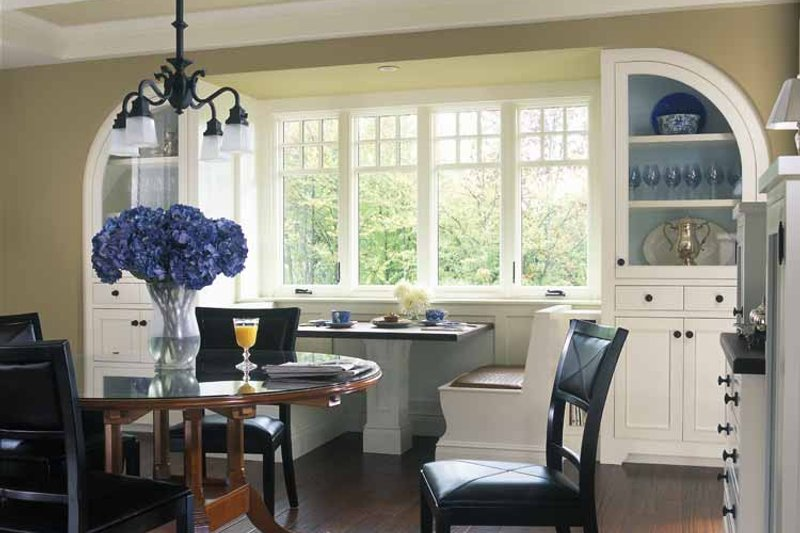 Craftsman Interior - Dining Room Plan #928-19 - Houseplans.com