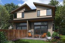 Architectural House Design - Contemporary Exterior - Rear Elevation Plan #48-1020