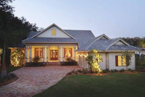 Ranch Exterior - Front Elevation Plan #930-232