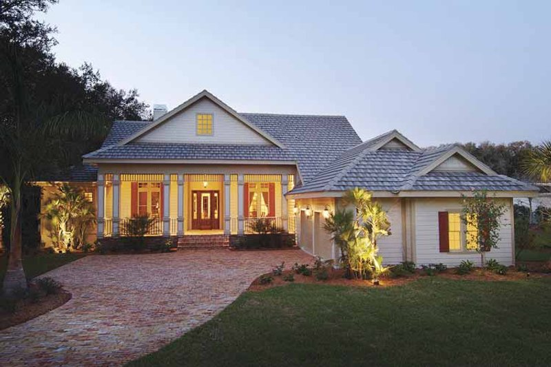 Home Plan - Ranch Exterior - Front Elevation Plan #930-232