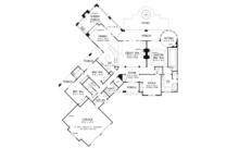 European Floor Plan - Main Floor Plan Plan #929-903