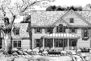 Traditional Exterior - Front Elevation Plan #20-573