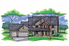 House Plan Design - Colonial Exterior - Front Elevation Plan #51-1014