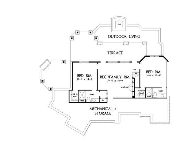 Dream House Plan - Standard Finished Basement