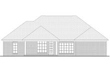 Dream House Plan - European Exterior - Rear Elevation Plan #430-73