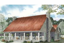 Home Plan - Country Exterior - Front Elevation Plan #17-3343