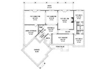 European Floor Plan - Lower Floor Plan Plan #119-427