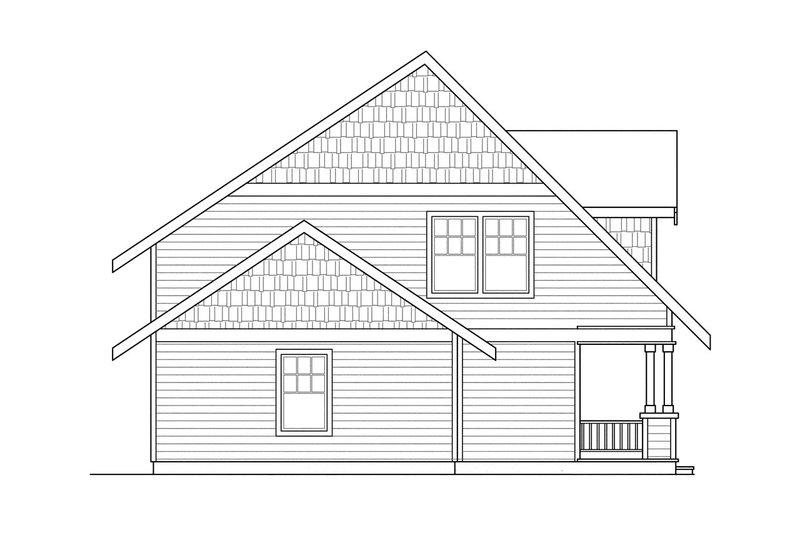 Craftsman Exterior - Other Elevation Plan #124-386 - Houseplans.com