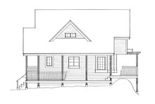 House Design - European Exterior - Other Elevation Plan #118-142